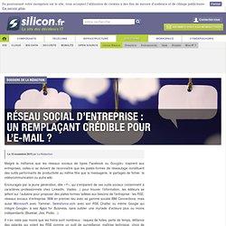 Réseau social d'entreprise : un remplaçant crédible pour l'e-mail ?