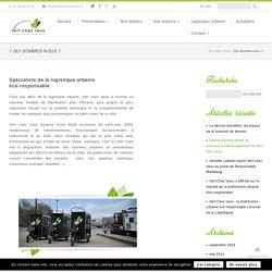 L'entreprise livraison écologique, logistique urbaine éco-responsable