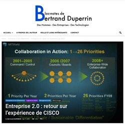 Entreprise 2.0 : retour sur l'expérience de CISCO
