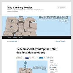 Réseau social d'entreprise : état des lieux des solutions