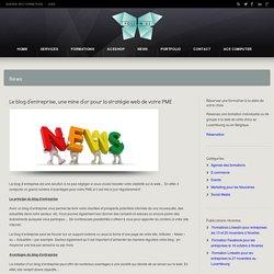 Le blog d'entreprise, une mine d'or pour la stratégie web de votre PME - Follow-us