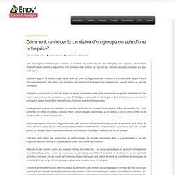 Comment renforcer la cohésion d'un groupe au sein d'une entreprise? - enov-conseil-strategies.com