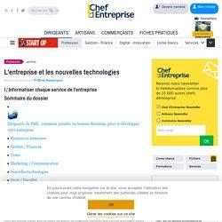 L'entreprise et les nouvelles technologies - Les fondamentaux TPE - PME