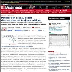 Peupler son réseau social d'entreprise est toujours critique par @arayrole #e20