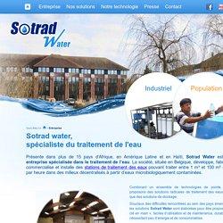 Entreprise de traitement de l'eau