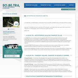 La SOBETRA à Jurançon : transport scolaire, ligne régulière, voyage et excursion, location de camion à Pau