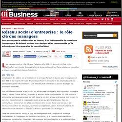 Réseau Social d'Entreprise : le rôle clé des managers par @vincentbouthors