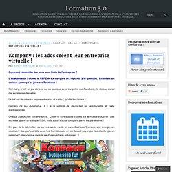 Kompany : les ados créent leur entreprise virtuelle !