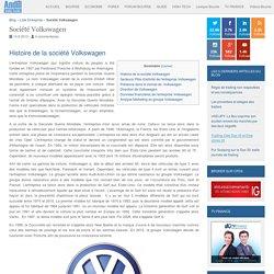 Entreprise Volkswagen : Chiffre d'affaires et résultats de l'action Volkswagen