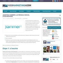 Adoptez Yammer, le réseau social d'entreprise
