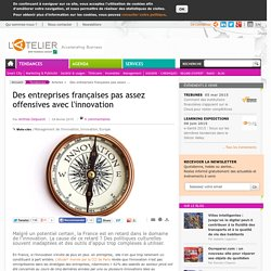 Des entreprises françaises pas assez offensives avec l'innovation