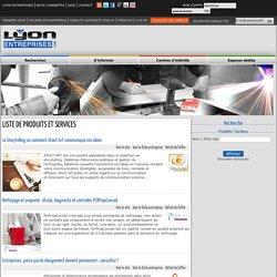 Lyon entreprises : l'Annuaire des sociétés de Lyon et Rhône Alpes