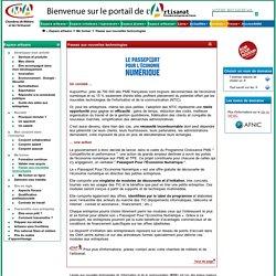 Passeport pour l'économie numérique, entreprises artisanales, NTIC