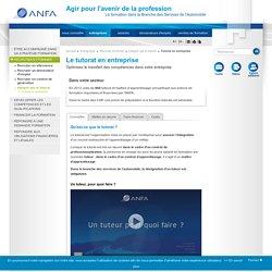 Tutorat en entreprise / Intégrer par le tutorat / Recruter et former / Entreprises