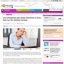 Les entreprises pas assez attentives à leurs fans sur les réseaux sociaux