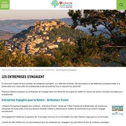 Les entreprises s'engagent - Agence Régionale de la Biodiversité - ARB