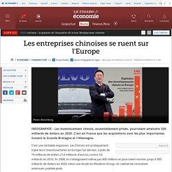 Les entreprises chinoises se ruent sur l'Europe