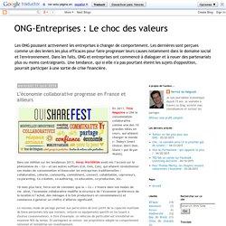 Le choc des valeurs: L'économie collaborative progresse en France et ailleurs