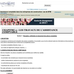 Assistance comptable dans les entreprises de construction: cas de BTM - Gninfoni Roméo Parfait YE