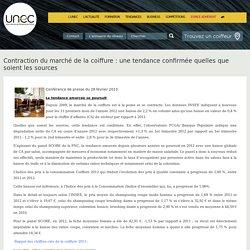 Union Nationale des Entreprises de Coiffure - Contraction du marché de la coiffure : une tendance confirmée quelles que soient les sources