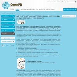 Coop FR et l'OCCE publient Les entreprises coopératives, support de cours à destination des enseignants