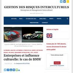 Entreprises et influence culturelle: le cas de BMW