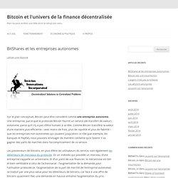 Bitcoin et l'univers de la finance décentralisée