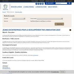 Jeunes en entreprises pour le développement par l'innovation (JEDI)