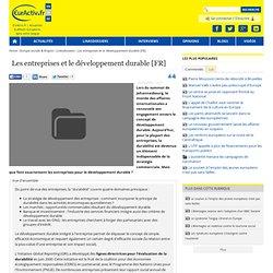 Les entreprises et le développement durable [FR]
