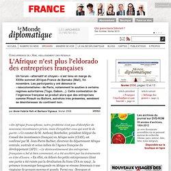 L'Afrique n'est plus l'eldorado des entreprises françaises, par Anne-Valérie Hoh et Barbara Vignaux