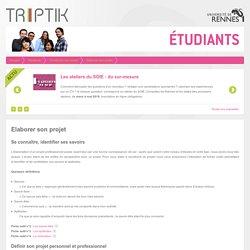 Elaborer son projet professionnel (Université Rennes 1)