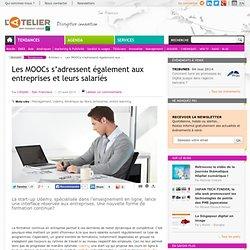 Les MOOCs s'adressent également aux entreprises et leurs salariés