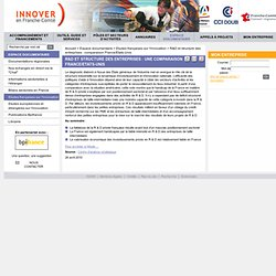 R&D et structure des entreprises : une comparaison France/Etats-Unis – Etudes françaises sur l'innovation – Espace documentaire