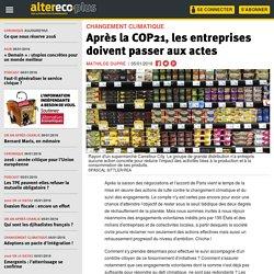 Après la COP21, les entreprises doivent passer aux actes