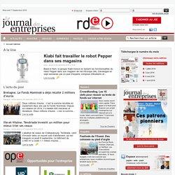Le Journal des entreprises actualité entreprise vie économique pme lettre information - National