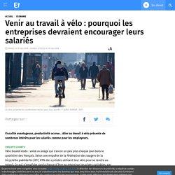 Venir au travail à vélo : pourquoi les entreprises devraient encourager leurs salariés