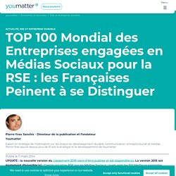 TOP 100 des Entreprises Engagées en RSE et Médias Sociaux