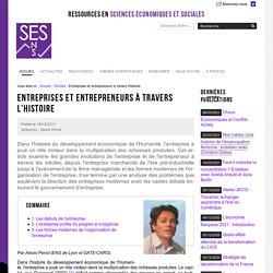 Entreprises et entrepreneurs à travers l'histoire