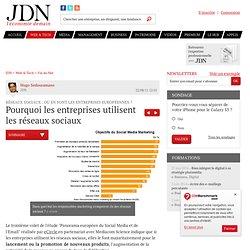 Pourquoi les entreprises utilisent les réseaux sociaux - Décisionnaires et réseaux sociaux