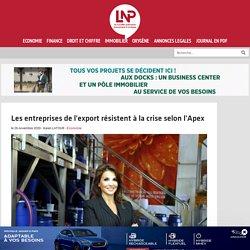 Les entreprises de l'export résistent à la crise selon l'Apex