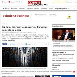 Big Data, pourquoi les entreprises françaises peinent à se lancer - L'Express L'Expansion