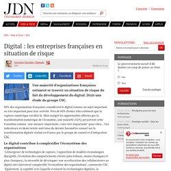 Digital : les entreprises françaises en situation de risque