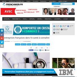 4 entreprises françaises dans l'e-santé à connaître