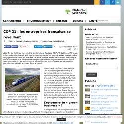 COP 21 : les entreprises françaises se réveillent