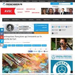 5 entreprises françaises qui innovent sur le marché de l'art