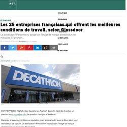 Les 25 entreprises françaises qui offrent les meilleures conditions de travail, selon Glassdoor