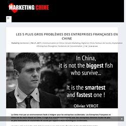Les 5 plus GROS Problèmes des Entreprises Françaises en Chine - Marketing Chine