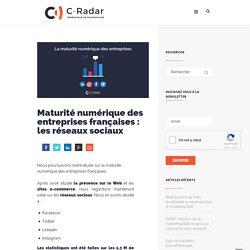 Maturité numérique des entreprises françaises : les réseaux sociaux - C-Radar