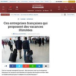 Ces entreprises françaises qui proposent des vacances illimitées
