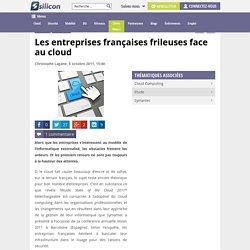 Les entreprises françaises frileuses face au cloud